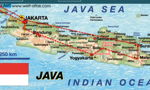 Reis naar Indonesie 2017